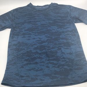 Champion Power Core Black & Blue Shirt